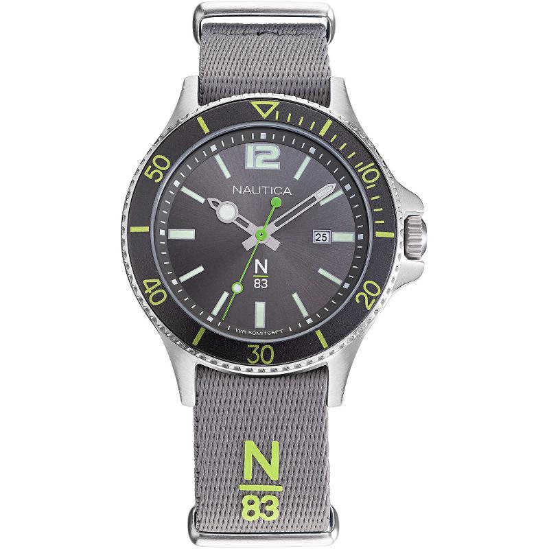 nuovi stili data di rilascio prezzo folle Orologio tessuto Nautica N83 Accra Beach NAPABS905 Nautica ...